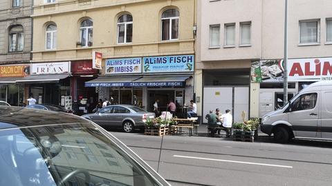 Münchner Straße Bahnhofsviertel Frankfurt wieder gut besucht