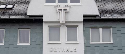 Ansicht der Baptistenkirche in Frankfurt