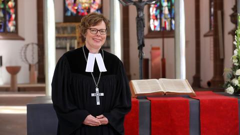 Bischöfin Beate Hofmann in der Kasseler Martinskirche