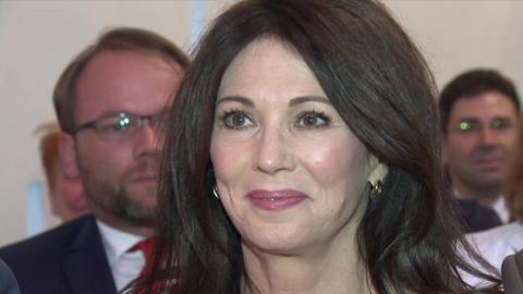 Schauspielerin und Preisträgerin Iris Berben