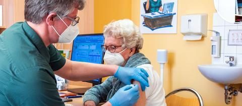 Impfung beim Hausarzt
