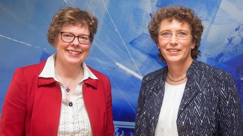 Die beiden Kandidatinnen