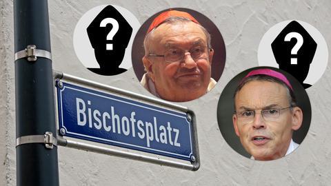 In Mainz und Limburg werden Nachfolger für Karl Kardinal Lehmann (oben) und Franz-Peter Tebartz-van Elst gesucht.