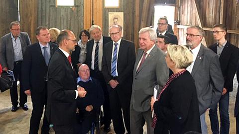 Bouffier besucht Gedenkstätte Hadamar