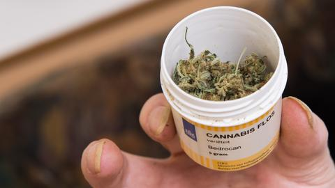 Cannabisblüten als Medizin