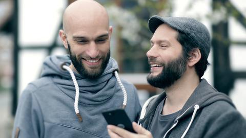 Shift-Phone-Gründer Samuel und Carsten Waldeck