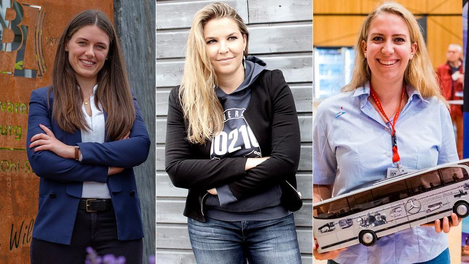 Führen Unternehmen: Annika Trappmann, Ulrike Werning-Pohlenz, Saskia Jungermann (v.l.n.r.)