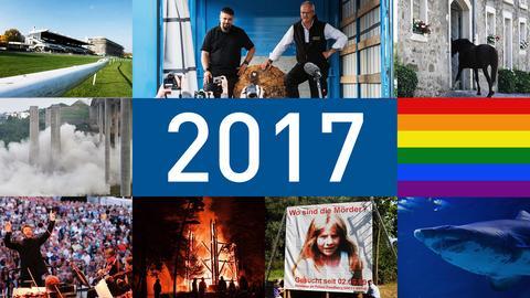 Die Personen und Momente des Jahres 2017 - was Hessen bewegt hat.
