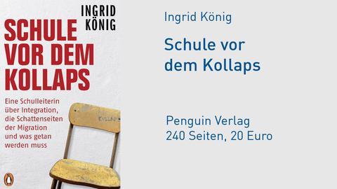 Cover Ingrid König Schule vor dem Kollaps