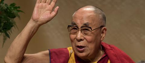 Dalai Lama in Frankfurt