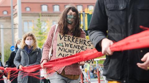 Demo von Fridays for Future in Berlin.