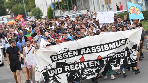 Demonstration am Samstag in Wächtersbach