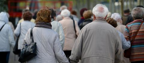 Demografie Senioren Rentner Sujet