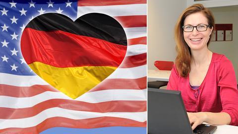 Bildkombo Flaggen mit Herz, Jessica Dreyer