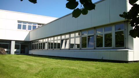 Die Schule in Dillenburg wird saniert.