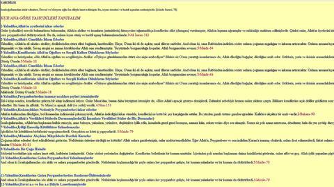Screenshot der inzwischen gelöschten Onlineseite der muslimischen Ditib-Gemeinde in Melsungen.