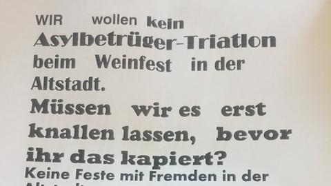 Drohbrief gegen Spenden-Triathlon