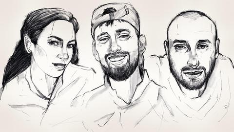 Mercedes Kierpacz, Said Nesar Hashemi, Kaloyan Velkov: Opfer des rassistischen Anschlags in Hanau