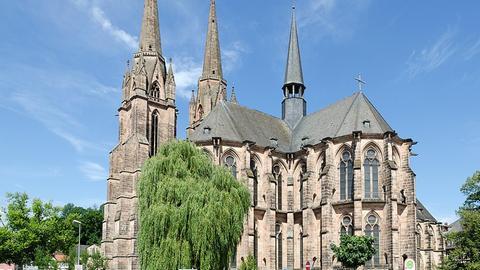 Elisabethkirche Marburg von außen