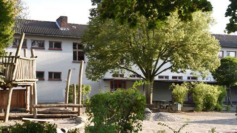 Die Elly-Heuss-Knapp-Schule in Darmstadt
