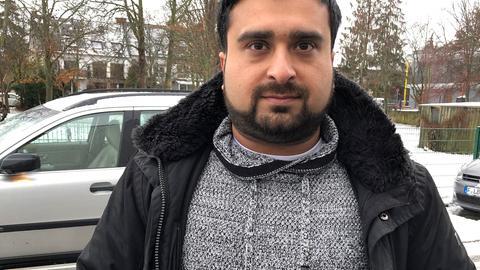 Murad Shafiq, Mitglied im Vorstand des Gesamtelternbeirats der städtischen Kinderzentren Frankfurt