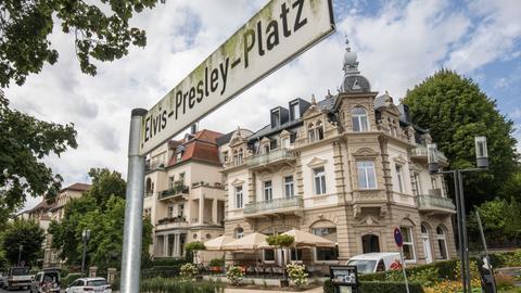 Elvis-Presley-Herberge in Bad Nauheim