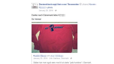 Screenshot eines Facebook-Posts - siehe Bildunterschrift