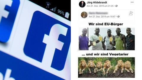 """""""Eindeutig rassistisch"""": Geteilter Facebook-Post"""