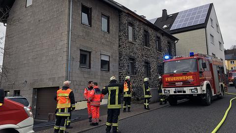 Einsatz der Feuerwehr Waldbrunn-Hintermeilungen