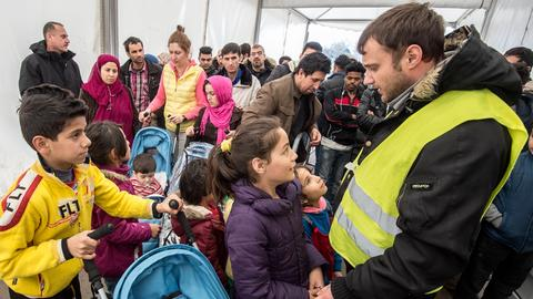 Flüchtlinge in Limburg