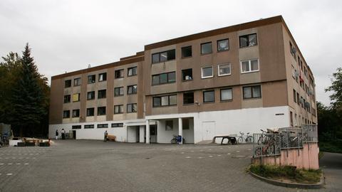 Flüchtlingsunterkunft in der Mainzer Straße in Wiesbaden