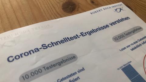 Coronakritiker fälschen Informationsblätter des RKI.