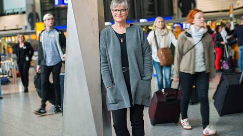 Ulrike Johanns, evangelische Pfarrerin am Flughafen Frankfurt