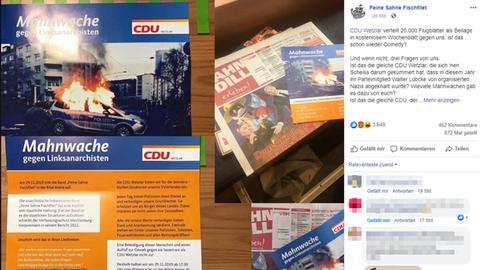 Flyer der CDU Wetzlar