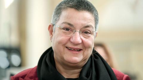Fotografisches Portrait der Friedenspreisträgerin Sebnem Korur Fincanci.