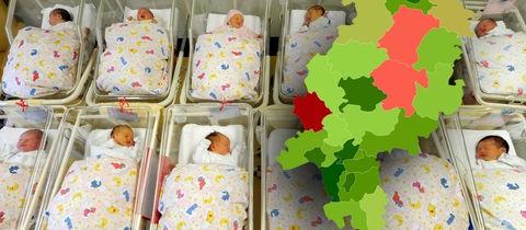 Baby-Boom in Hessen