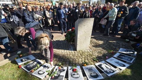 Gedenkveranstaltung für NSU-Opfer in Kassel