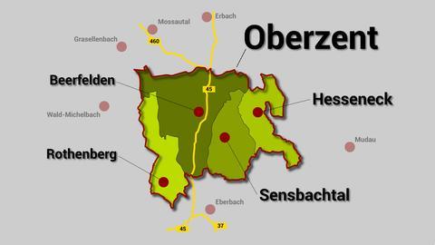 Gemeindefusion Oberzent