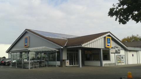 Aldimarkt in Gießen