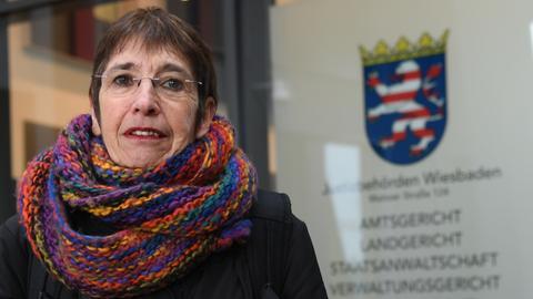 Die Klägerin Silvia Gingold