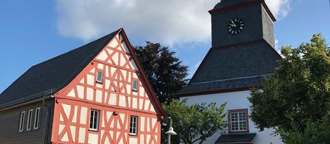 Die Kirche in Usingen-Merzhausen