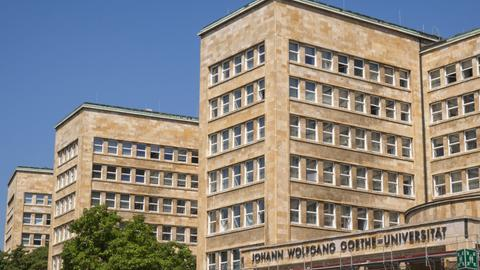 Hauptgebäude der Goethe-Universität in Frankfurt