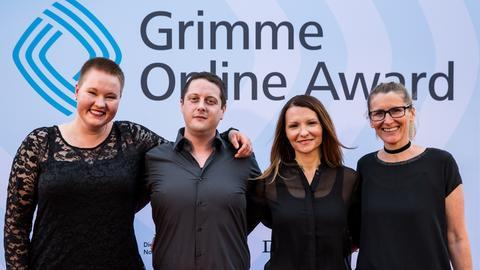 Gewinner-Team: Laura M. Schwengber, Justus von der Handt, Klaudija Schnödewind und Kerstin Henninger (v.l.).