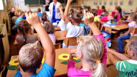 Grundschulen überfüllt