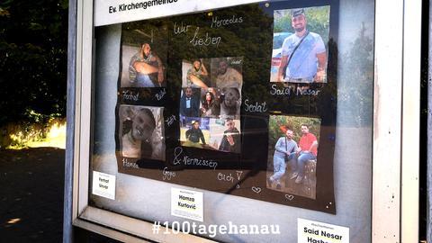 Gedenken an die Anschlagsopfer in Hanau-Kesselstadt