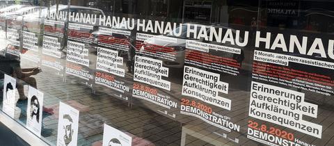 """Erinnerungsraum der """"Initiative 19. Februar"""" für die Opfer des rassistischen Anschlags von Hanau"""