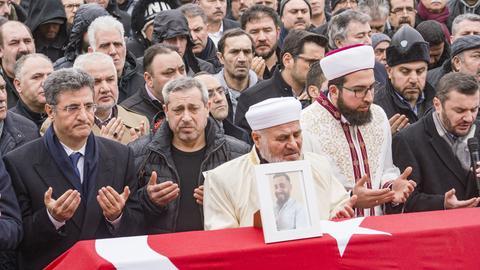 Trauergebet für die Opfer des Hanauer Anschlag