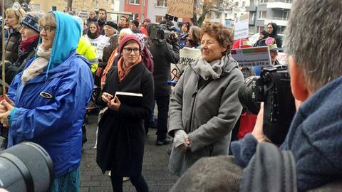 Kristina Hänel vor dem Landgericht Gießen