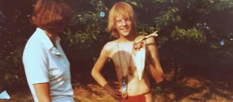 Harald Wiester als 15-Jähriger