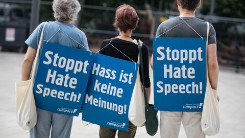 Hass im Netz, Studie wird vorgestellt